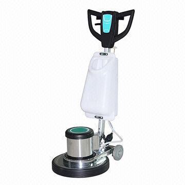 scrub floor machine