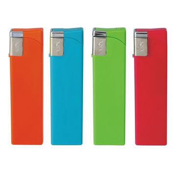 Slim Lighters for Promotion and Printing, Measures 80.7 x 21.9 x 9.9mm