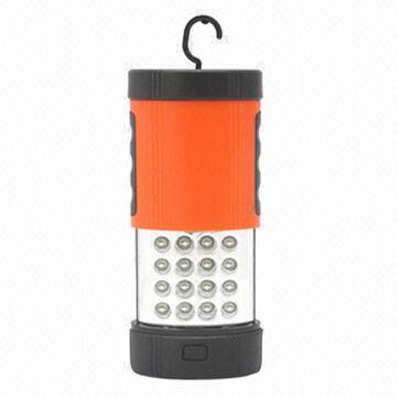Hong Kong SAR Dual Purpose LED Torch with Plastic Housing, 3 LED for Torch and 16 LED for Work Lamp
