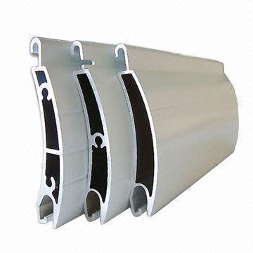 Aluminium roller shutter slats