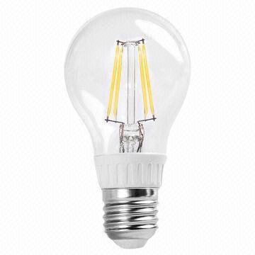 led globe bulb e27 filament with 4w power new line chip. Black Bedroom Furniture Sets. Home Design Ideas