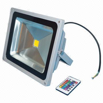 Led Floodlight Rgb Wireless Remote Control 50w Ip65 Waterproof Outdoor Lighting 230v Taiwan