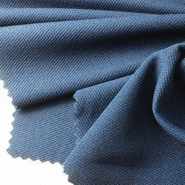 Taiwan Birdeye Interlock Fabric, Made of 92% Poly + 8% Spandex, with Wicking Treatment