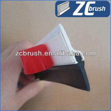 China Pvc Holder Weather Proof Door Sweep With Adhesive Tape