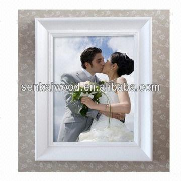 White Wedding Photo Frame 8x12 Global Sources