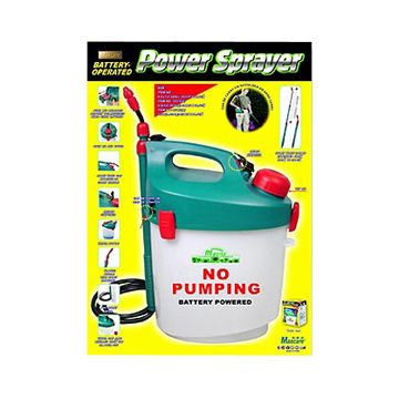 Hong Kong Sar Battery Powered Garden Sprayer With Shoulder Strap And Extendable Wand On Global
