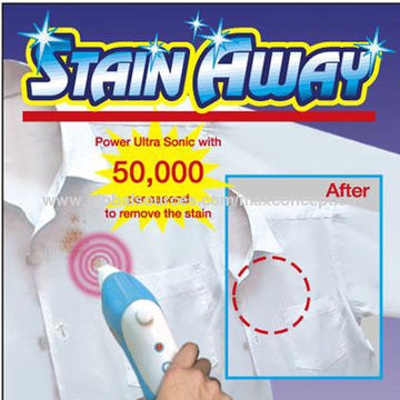 Stain Away Ultrasonic Cleaning Equipment, Quick and Easy to Operate