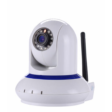 PTZ Network Wireless IP Camera with PnP, Motion Detection, Night Vision