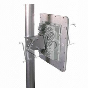 5.1/5.5/5.8GHz Broadband Wi-Fi Panel MIMO Antenna with 5150-5850MHz for WLAN, Wimax System