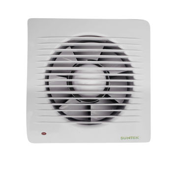 China 6 Inch Window Mounted Bathroom Exhaust Fan With Sensor And Time Delay Low