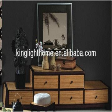 Home Decor Four Drawers Tv Bench Carbonized Bamboo Global Sources