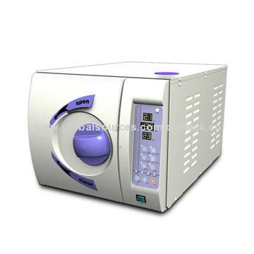 China 3-time Pre-vacuum Sterilizer with 220V/50Hz Voltage and 18L Volume