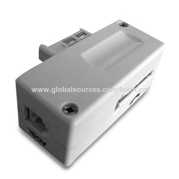 China French Filter with RJ11 or RJ45 Jack
