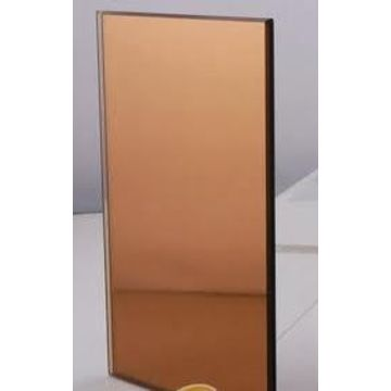 Brown Mirror glass