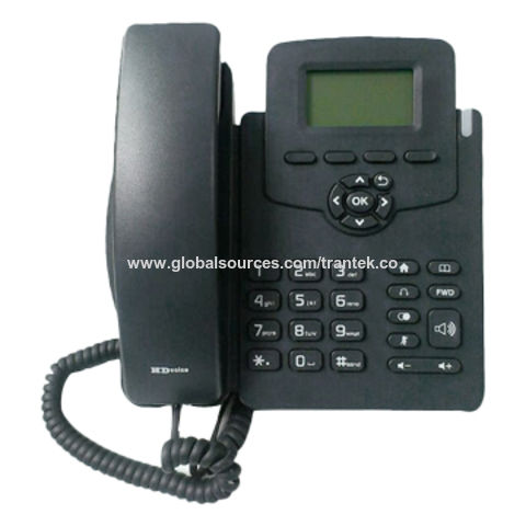 IP Phone with HD Voice, Easy and Requires Minimal Training