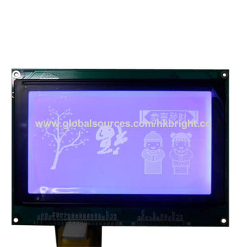 China Graphic LCM 240*128 Lines with White LED Back-light,STN,blue