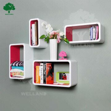 Wall Decorative Cube Shelf Global Sources