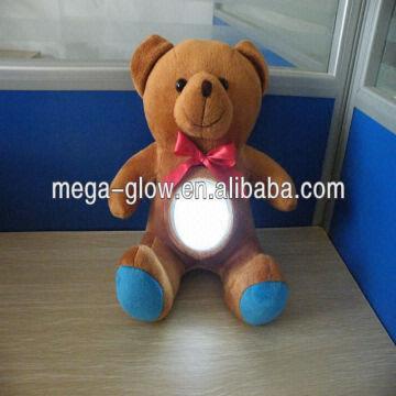 2014 Led Light Up Teddy Bear Valentine Gifts Light Cute