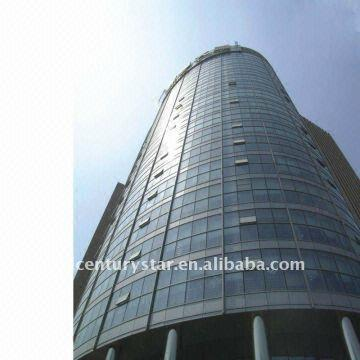 Unitized Spider Glass Curtain Wall Facade System Global