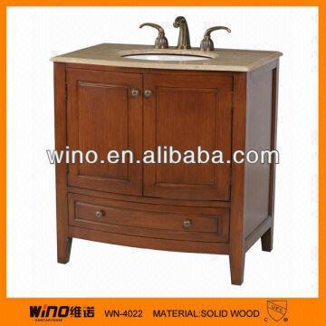 Waterproof wood bathroom vanity cabinet global sources for Waterproof bathroom cabinets