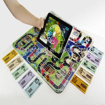 Customized board games with play money note professional for Money in design home game