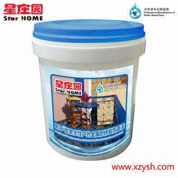 Sagittarius youjin water based exterior metallic antirust for Exterior water based paint