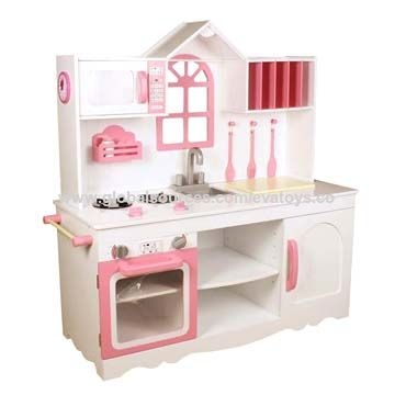 China Big Wooden Kitchen Set For Kids Unit Measurement 106 5 40 3