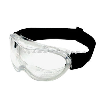 d4944f5fcd9 Durable Industrial Safety Goggles with PVC Frame and Polycarbonate Lens