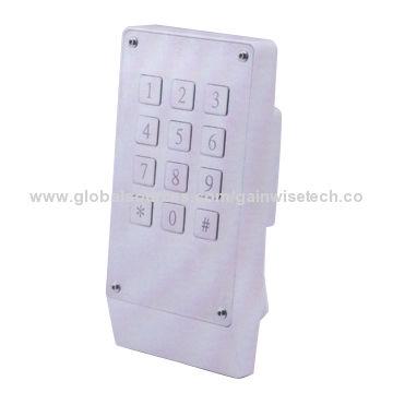 WCDMA/GSM Keypad Door Opener