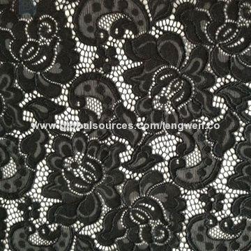 China Grace flower pattern lace fabric
