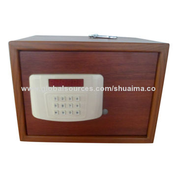 China Hotel Safe, Wooden-look-like Surface, Steel Material