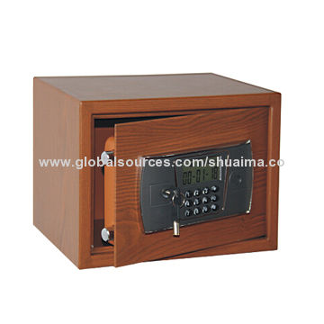 China Wood-grain treatment Safe, Powder-coated with Wooden-look-like, All Steel Material