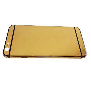 China Luxury gold plating mobile phone housing for iphone6