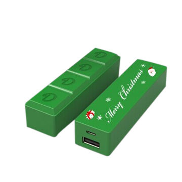 China Christmas power bank super low price with large stock, perfect for gifts or OEM order