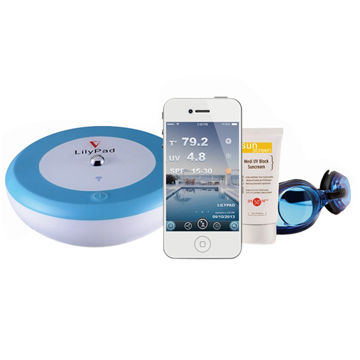 First smart wi fi pool thermometer and uv sensor global sources - Thermometre connecte wifi ...