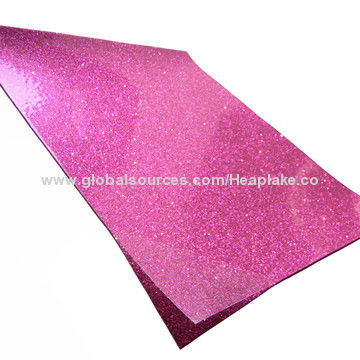 China Glitter With Film Eva Foam Sheet Suitable For School