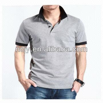 Wholesale color combination polo shirts party wear shirts for Polo shirt color combination