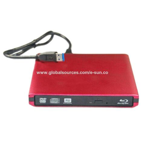 China External Laptop 12.7mm USB 3.0 Blu-ray DVD CD Burner Drive Writer