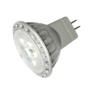 China 2W LED MR11 Spotlight Bulb with 30° Beam Angle, Suitable for Medical Lighting