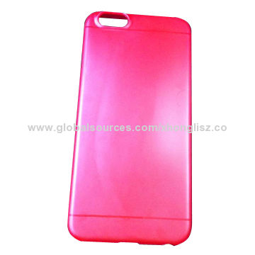 Ultra-thin Candy Color, PP Case for iPhone 6, Factory, Have Mold on Hand, Free Samples, Light-weight