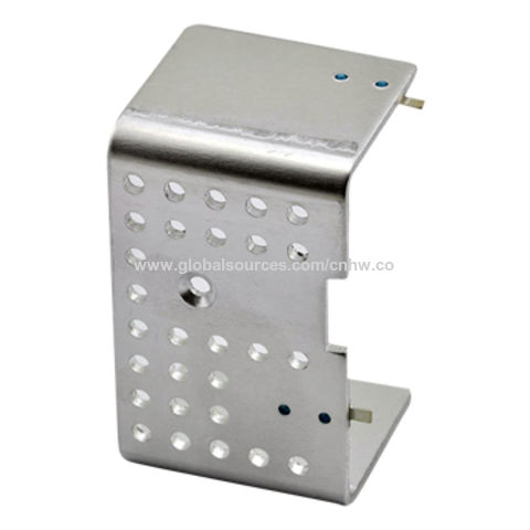 China Heat-sink, Aluminum 1050, Acid Pickling Finish, Matte Sn-plated Over Copper-plated