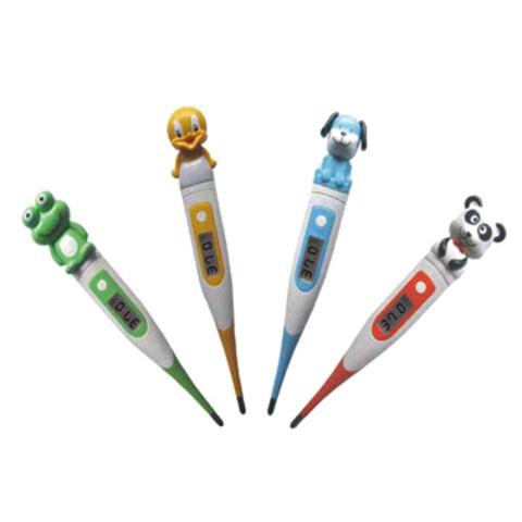 China Digital Baby Thermometer, Cartoon Head