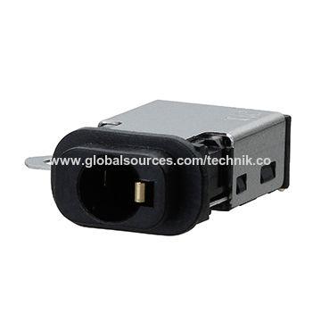 3.5mm waterproof stereo jack through waterproof IPX7 standard