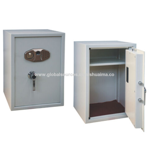 China Biometric Fingerprint Office Safe with Three Ways to Open Safe and Deluxe Handle