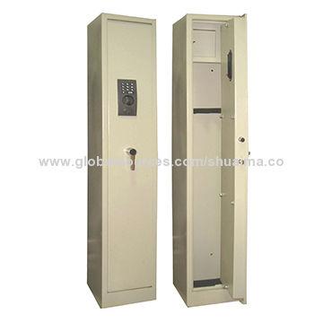 China Gun Safes, 315*205*1380mm, Black, Gray, Wood Cherry, Green