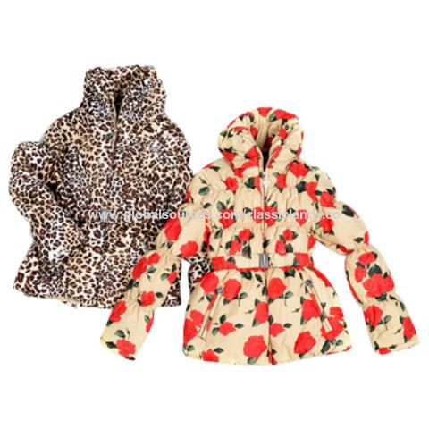 China Girls' padded jacket