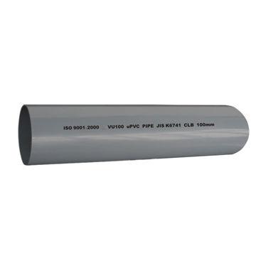 Industrial uPVC Pipes, JIS K6739/JIS K6741