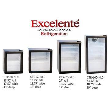 Counter Top Display Refrigerator Mini Cooler Table Top