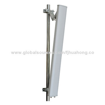 2.3-2.7GHz panel 18dBi dual polarized panel antenna 4G LTE 90degree mimo sector antenna