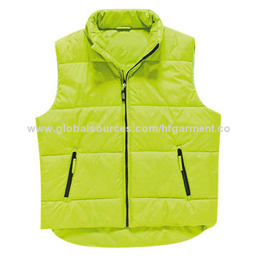 China NEW Design Fashion Popular Men's Body Warmer, Water Resistant/Wind-proof/Customized Label, Design